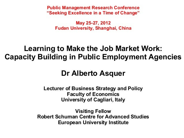 """Public Management Research Conference           """"Seeking Excellence in a Time of Change""""                      May 25-27, 2..."""
