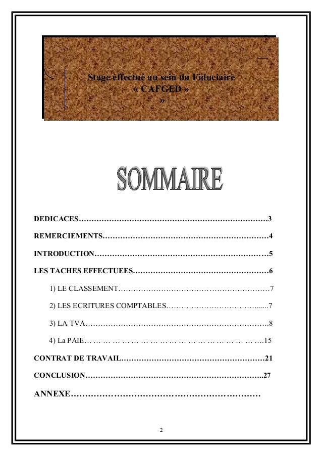 TÉLÉCHARGER RAPPORT DE STAGE CHEZ UN FIDUCIAIRE PDF GRATUIT
