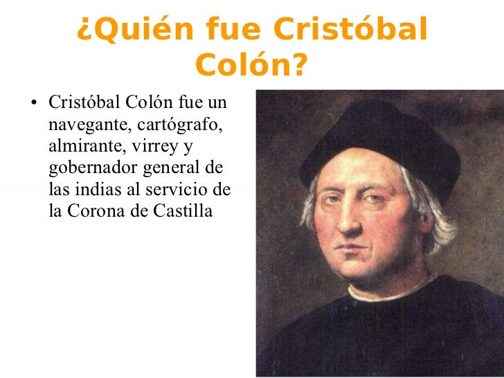 Biografia de cristobal colon breve yahoo dating 4