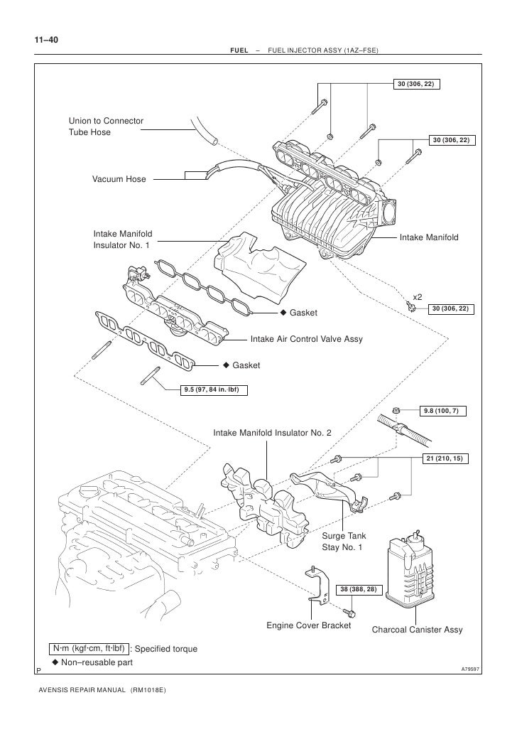Toyota 1az Fse Engine Manual