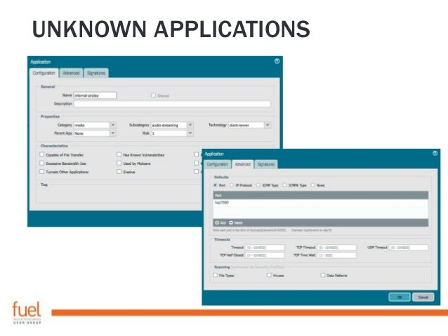UNKNOWN APPLICATIONS