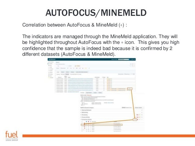 AUTOFOCUS/MINEMELD Below are just a few of many use cases for which you might find this useful: • Use miners to get indica...