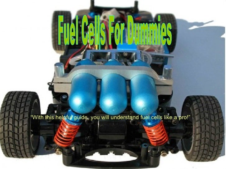 """Fuel Cells For Dummies """" With this helpful guide, you will understand fuel cells like a pro!"""""""