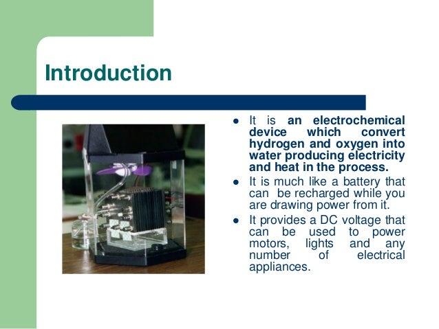 Fuel cells Slide 3