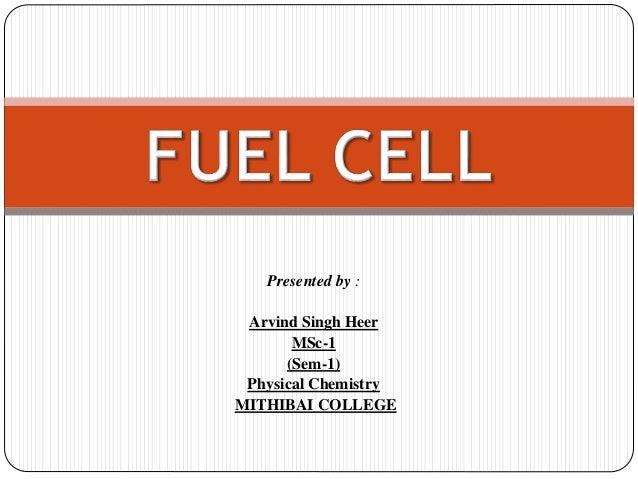 Presented by : Arvind Singh Heer MSc-1 (Sem-1) Physical Chemistry MITHIBAI COLLEGE