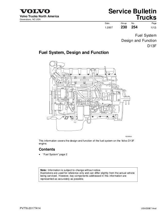 fuel d13 rh slideshare net dd13 engine diagram volvo d13 engine diagram