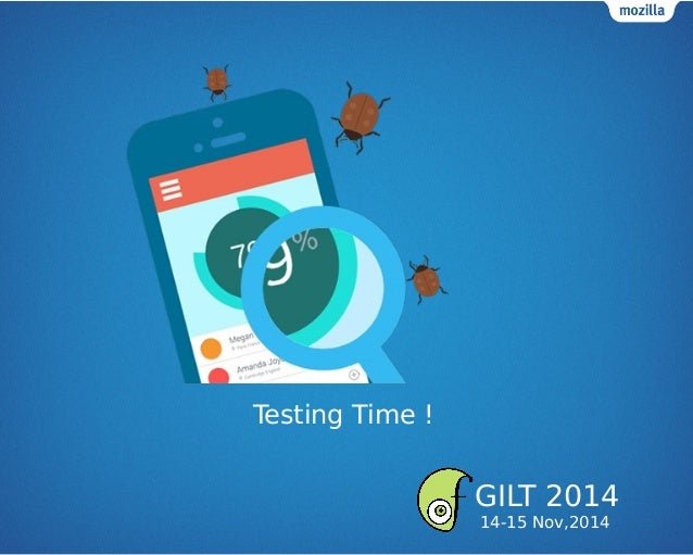 Testing Time ! GILT 2014 14-15 Nov,2014