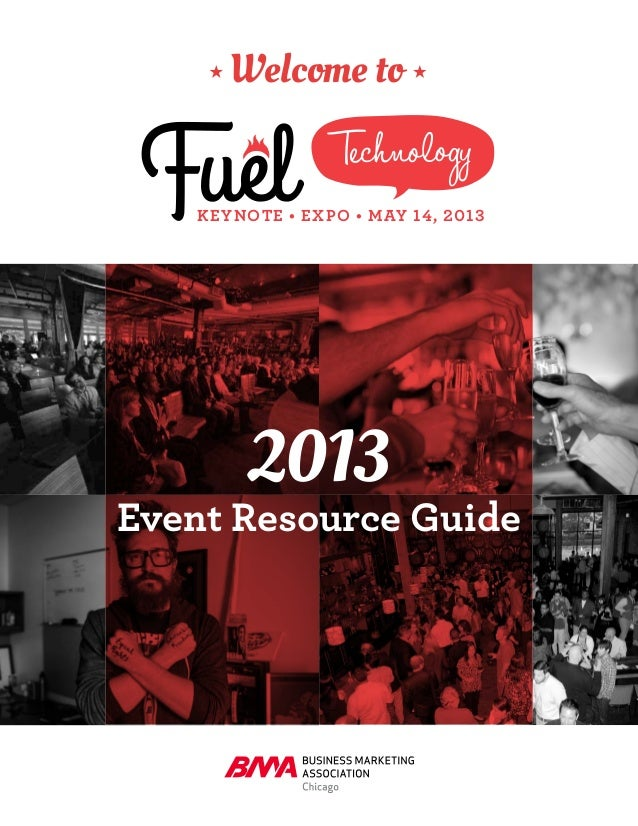 TechnologyKEYNOTE • EXPO • MAY 14, 2013Welcome to2013Event Resource Guide