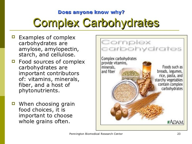 An Experiment To Determine Simple And Complex Carbohydrates Term