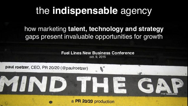 image:  Xurxo  Mar.nez the indispensable agency how marketing talent, technology and strategy gaps present invaluable ...