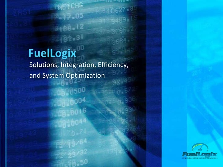 FuelLogixSolutions, Integration, Efficiency,and System Optimization