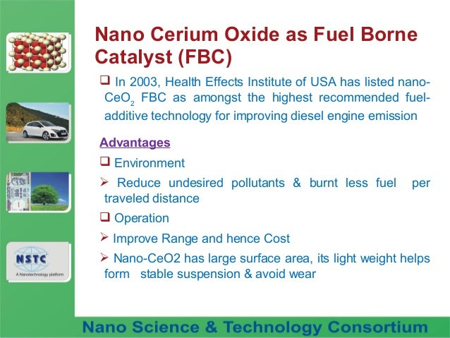 Fuel nano additive technology
