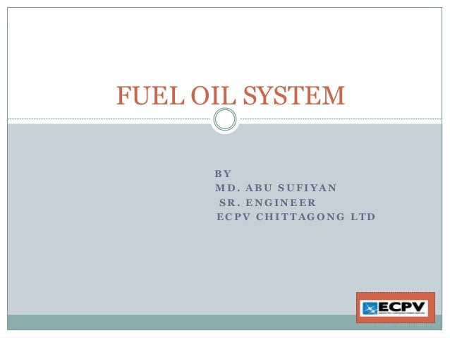 Fuel system of HFO Plant