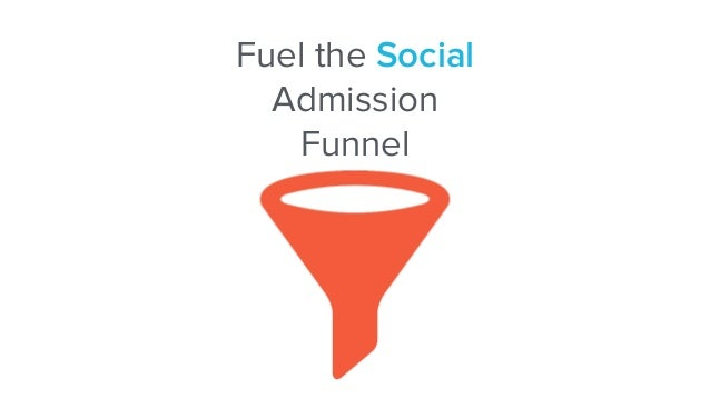 Fuel the Social  Admission Funnel