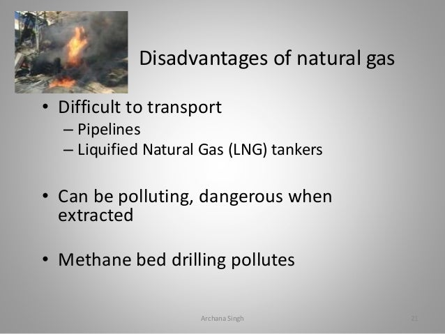 Disadvantages Of Natural Gas >> Fuel Types