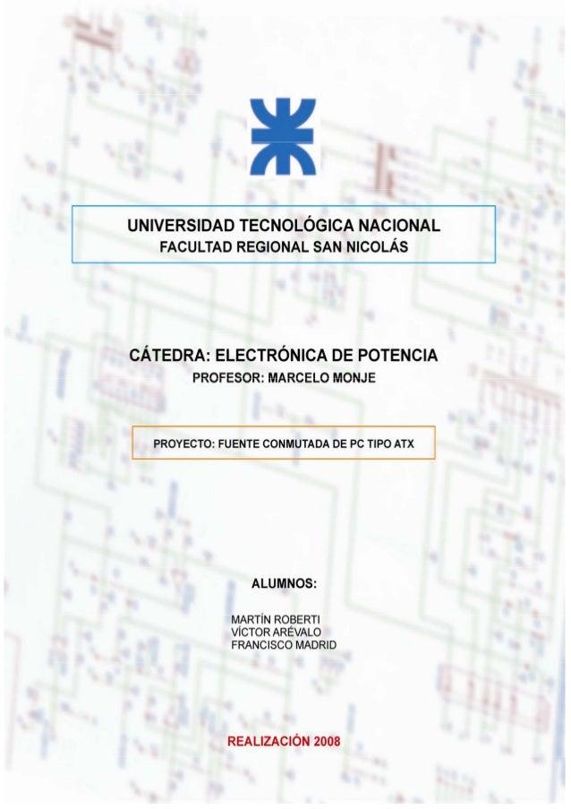 Alumnos: Martín Roberti – Víctor Arévalo – Francisco Madrid Página 1 de 57ÍNDICEPáginaObjetivos 3Capítulo 1 – La fuente ti...