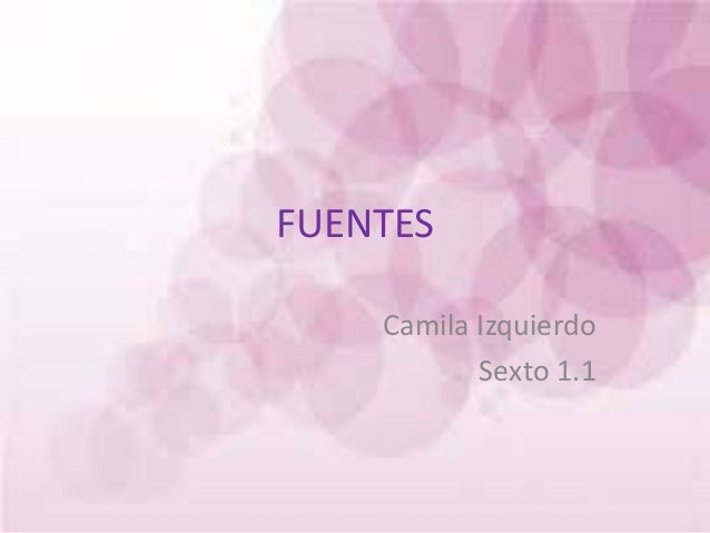 FUENTES Camila Izquierdo Sexto 1.1