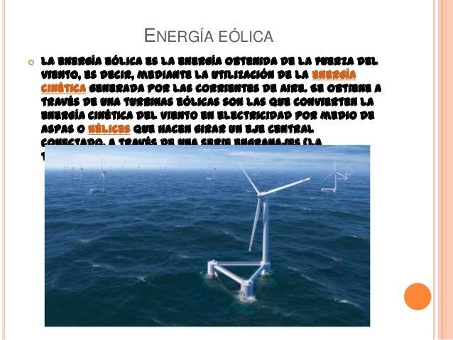 Fuentes De Energ 237 A No Contaminantes