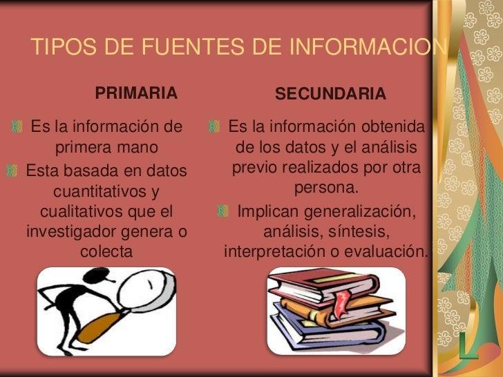 Fuentes de informacion Slide 3