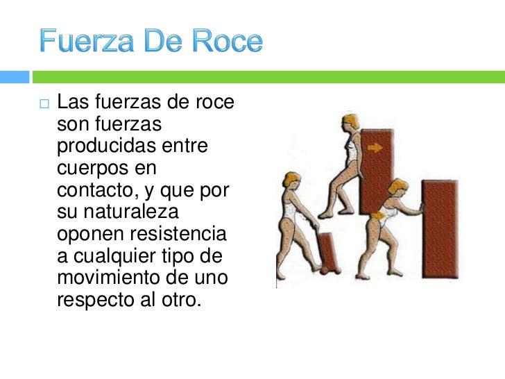 Fuerza de roce hh for Fuera definicion