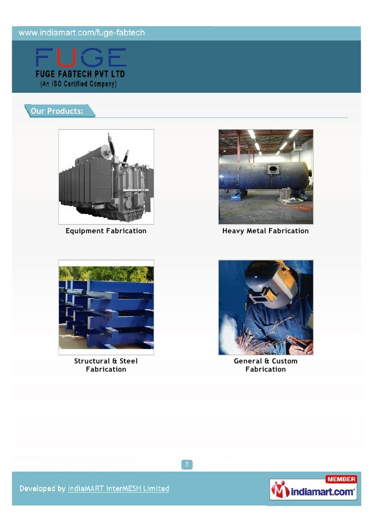 Fuge Fabtech Private Limited, Dindigul, Equipment Fabrication