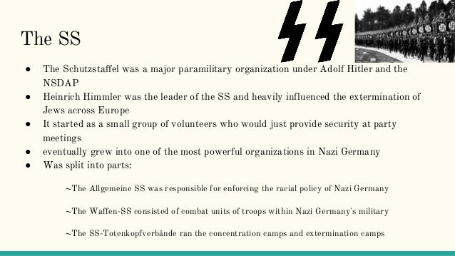 working to the fuhrer Chapter 9: hitler's role in the nazi state • this argument of 'working towards the fuhrer' has been presented by the british historian ian kershaw.