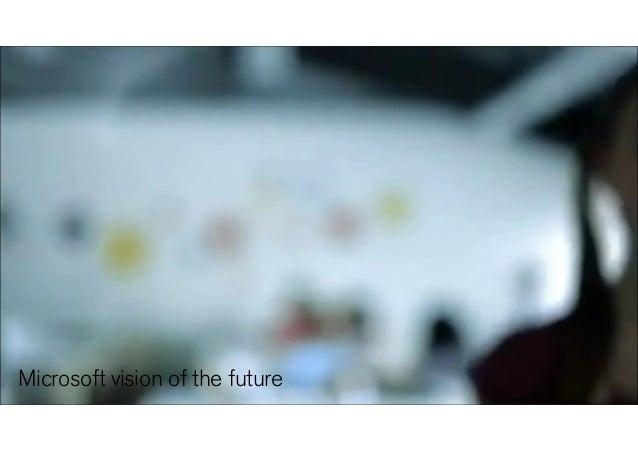 Microsoft video Microsoft vision of the future