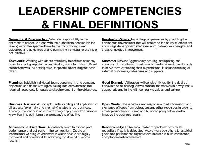 leadership competencies Jack zenger is the ceo of zenger/folkman, a strengths-based leadership development firm he is the author and co-author of 13 books including including how.