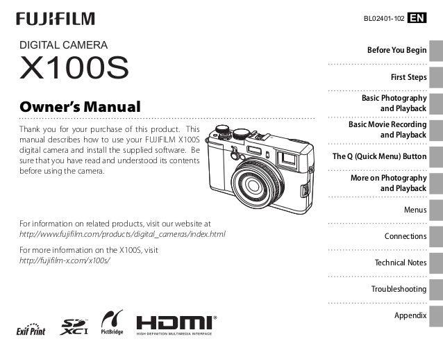 fujifilm x100s manual en rh slideshare net fuji x100s manual pdf download fuji x100t manual download