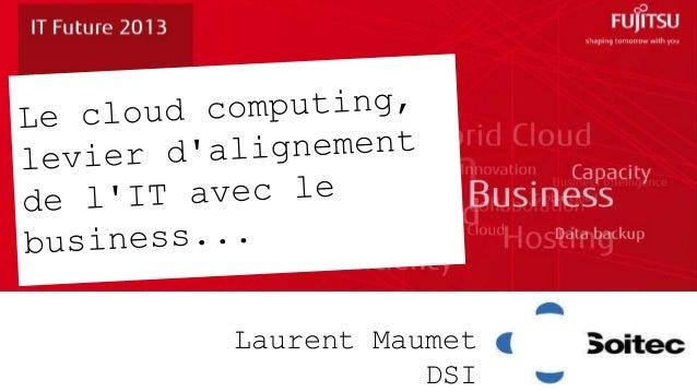 Laurent Maumet           DSI