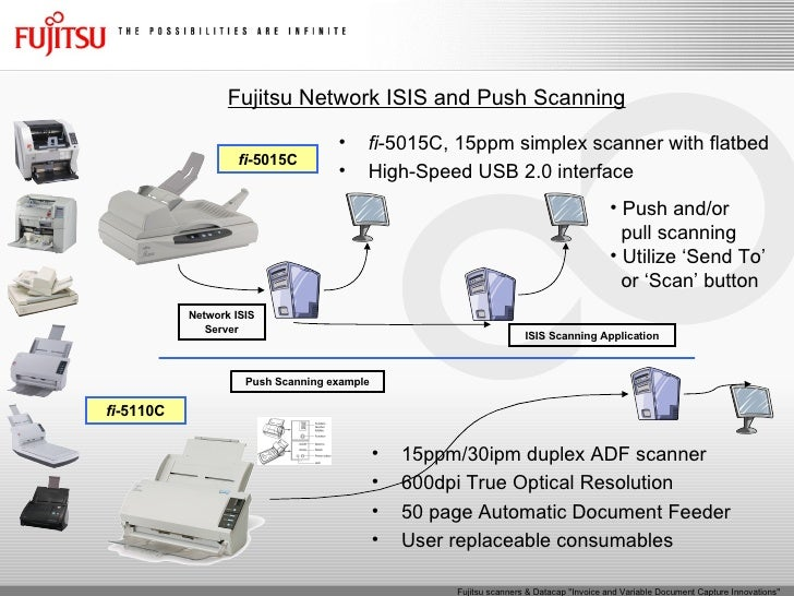 Fujitsu Scanners And Datacap Invoice And Variable Document Capture I - Invoice scanner