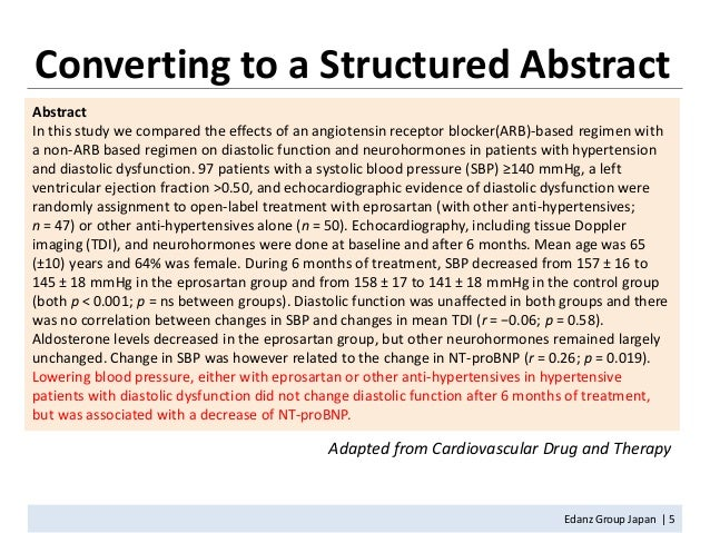 structured abstract apa