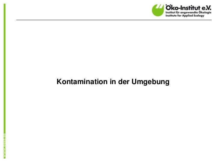 Trajektorien aus dem deutschen IMIS-System (BfS)                                                   Höhe der Trajektorie   ...