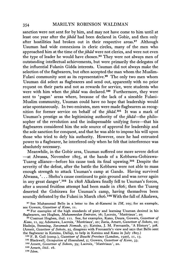 sokoto jihad After his hijra, dan fodio launched a powerful jihad in 1804, and by 1809, he had established the sokoto caliphate that would rule over much of northern nigeria until it was conquered by the british in 1903.