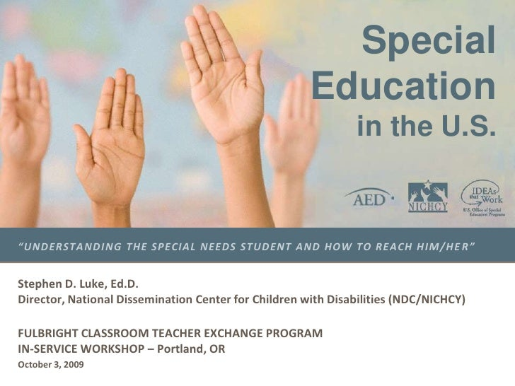 Special Education in the US: A History & Systems of Support