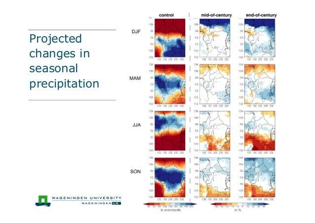 Projectedchanges inseasonalprecipitation