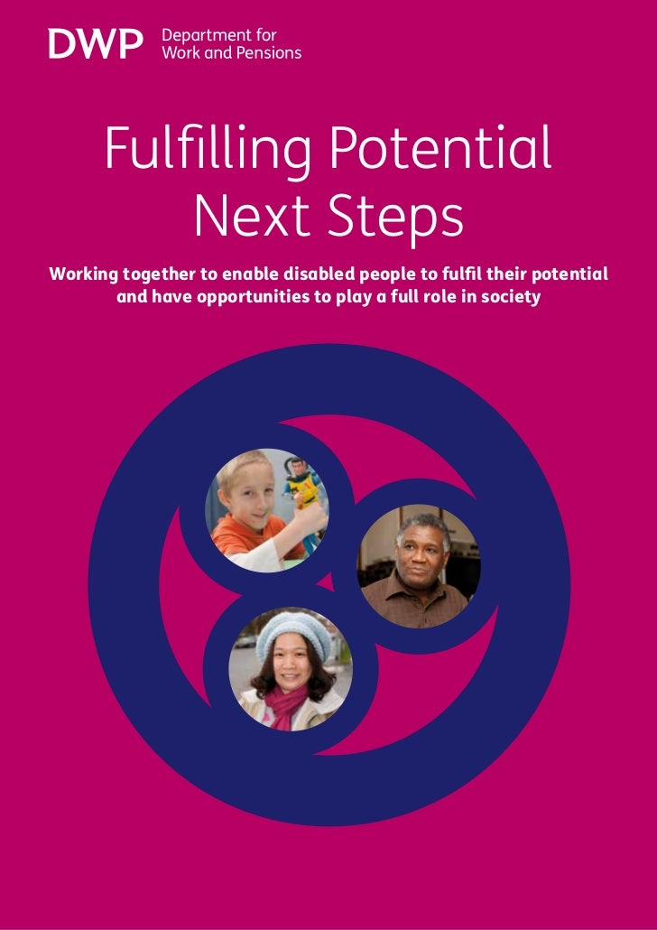 Fulfilling Potential Next Steps      Fulfilling Potential          Next StepsWorking together to enable disabled people to...