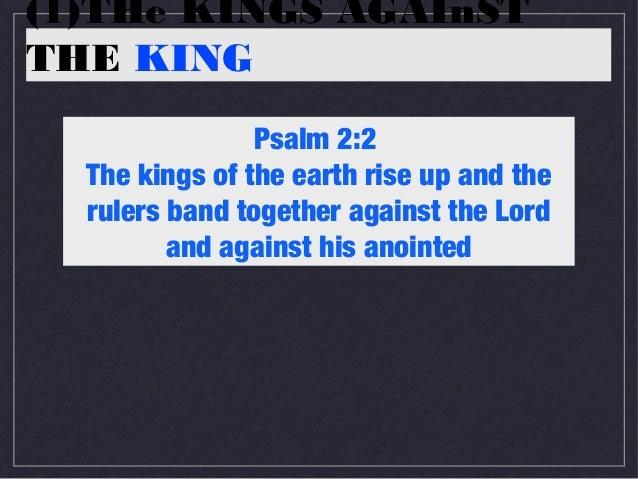 Fulfilment 3, Psalm 2 & Acts 4 Slide 2