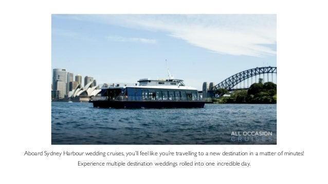 9 Aboard Sydney Harbour Wedding Cruises