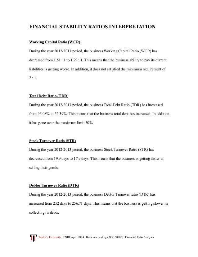 Liquidity Measurement Ratios: Current Ratio