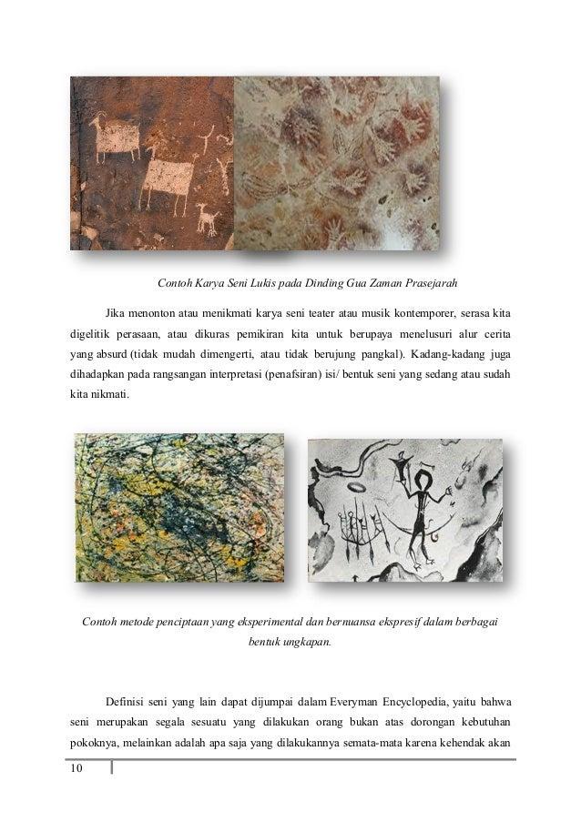 Contoh Karya Seni Rupa Zaman Prasejarah - Mosaicone
