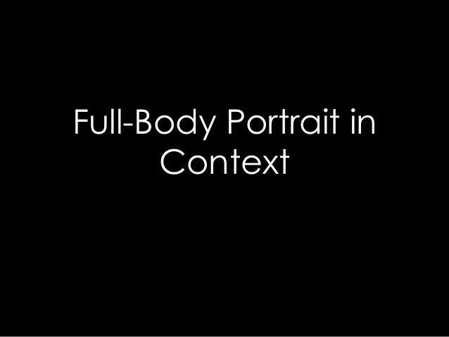 Full-Body Portrait in Context
