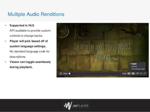 The Future of Video Player Accessibility