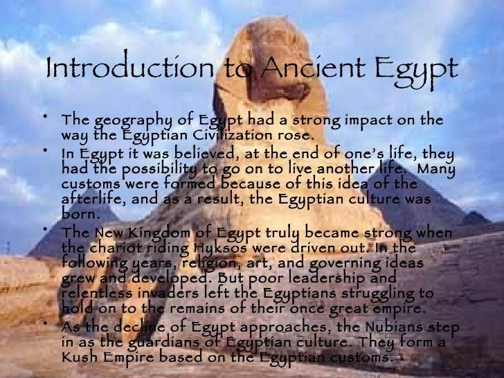 essay on egyptian civilization