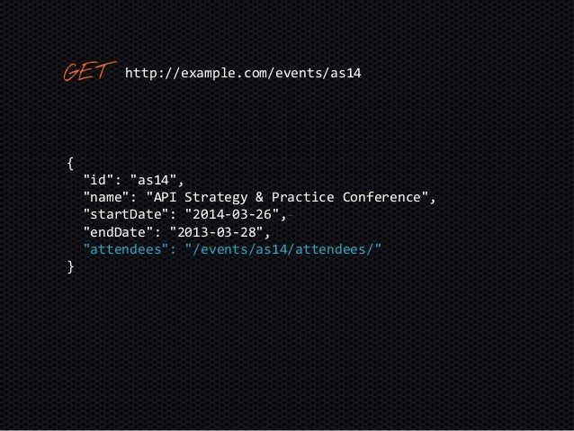 """{ """"id"""": """"as14"""", """"name"""": """"API Strategy & Practice Conference"""", """"startDate"""": """"2014-03-26"""", """"endDate"""": """"2013-03-28"""", """"attende..."""