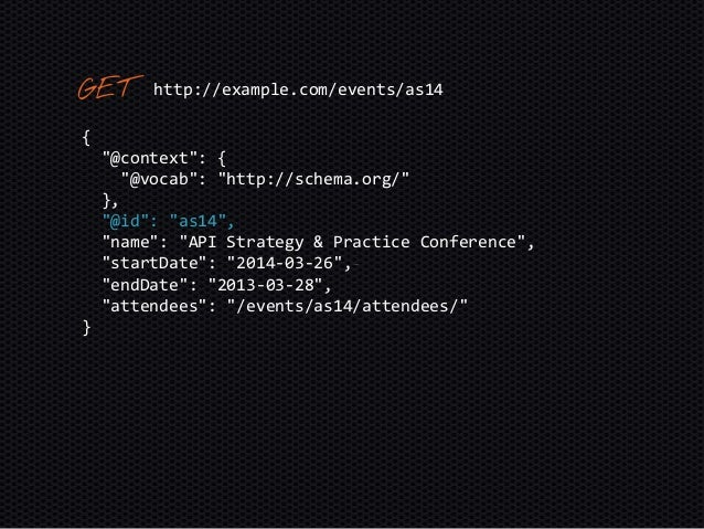 """{ """"@context"""": { """"@vocab"""": """"http://schema.org/"""" }, """"@id"""": """"/events/as14/attendees/"""" }"""