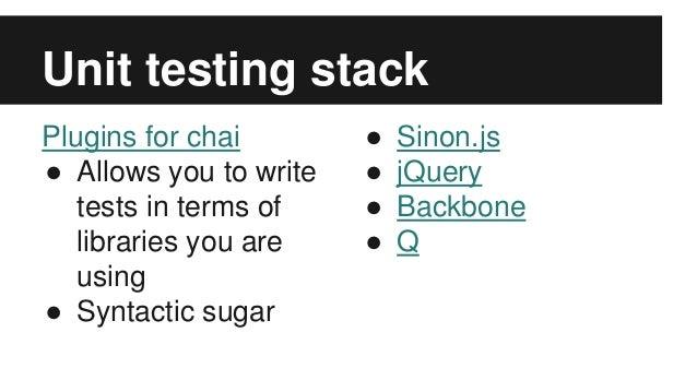 Full Stack Unit Testing