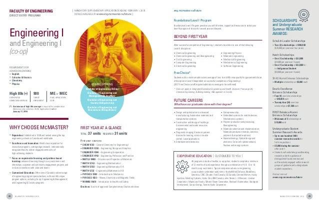 McMaster University - 2018 First Year Viewbook
