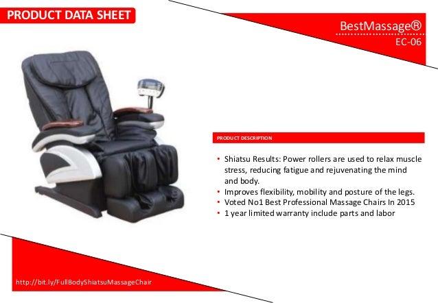 full body shiatsu massage chair bestmassage ec 06