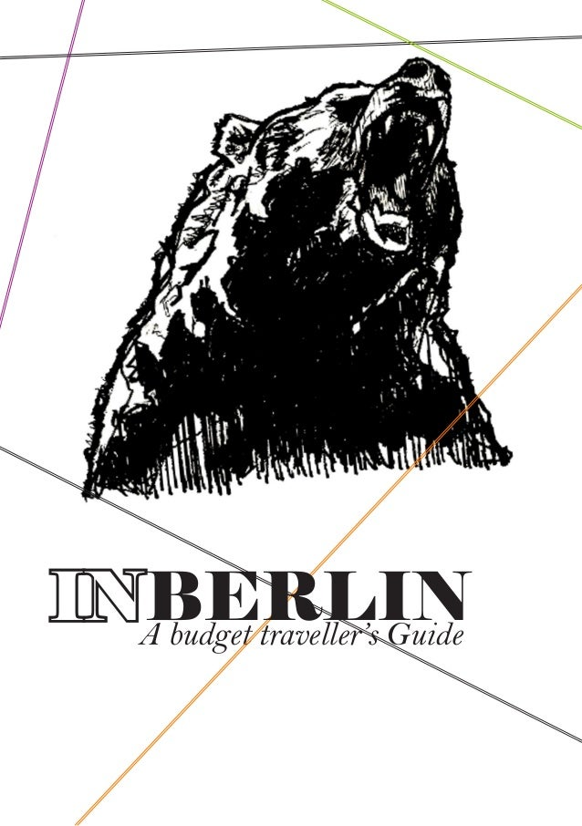 A budget traveller's Guide INBERLIN
